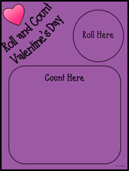 Roll and Count Valentine's Day