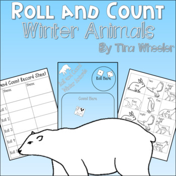Roll and Count Winter Animals