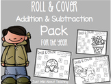 Roll and Cover- {Addition and Subtraction Pack} for the Year!