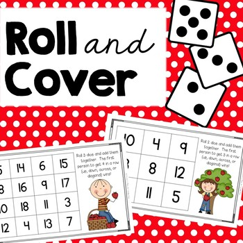 Roll and Cover {Apple Addition}