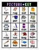 Roll-and-Cover: CVC Words!