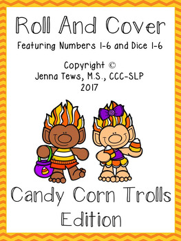 Roll and Cover:  Candy Corn Trolls Edition