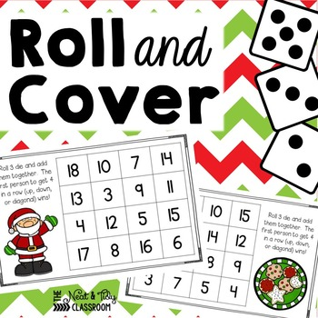 Roll and Cover {Christmas Addition}