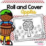 Roll and Cover Dice Games September Apples Edition