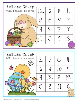 Roll and Cover - Easter Edition