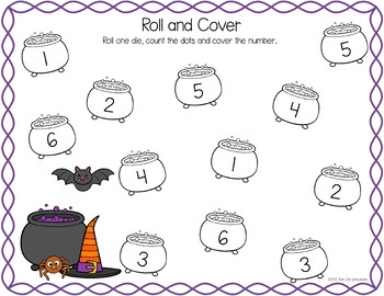 Roll and Cover - Fall Halloween Thanksgiving