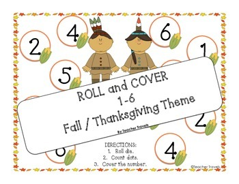 Roll and Cover Fall / Thanksgiving Theme