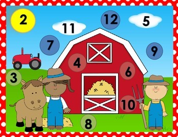 Roll and Cover Farm (Addition-2 Dice)