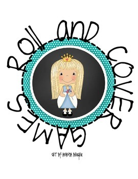 Roll and Cover Game Princess Theme