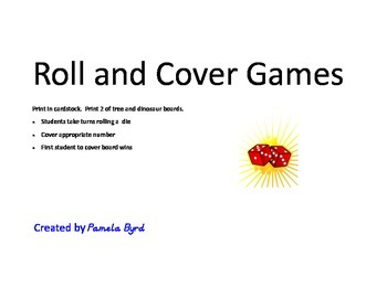 Roll and Cover Games