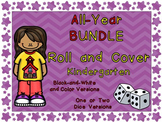 Roll and Cover Games Throughout the Year for Kindergarten