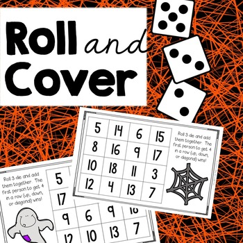 Roll and Cover {Halloween Addition}