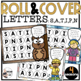 Roll and Cover Letter Recognition Games Letters S A T I P N