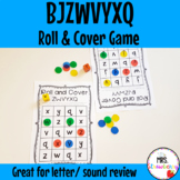 Roll and Cover Letters BJZWVYXQ Game