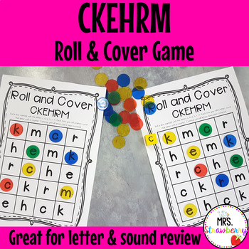 Roll and Cover Letters CKEHRM Game