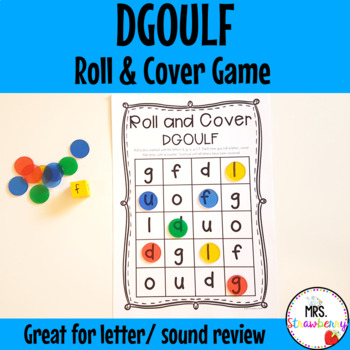 Roll and Cover Letters DGOULF Game