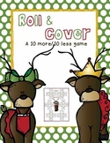 Roll and Cover Reindeer Game-more and less
