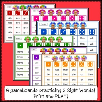 Sight Word Games – Thanksgiving Theme {EDITABLE}