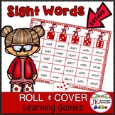 Roll and Cover Sight Word Games – Happy Cows! {EDITABLE}