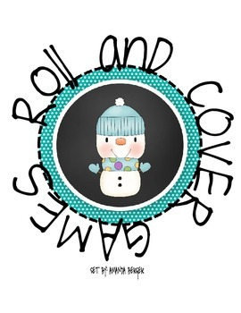 Roll and Cover- Snowman Game