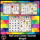 Roll and Cover Sounds Bingo