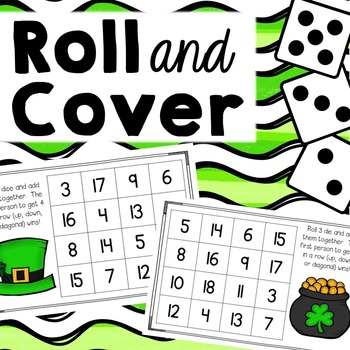 Roll and Cover {St. Patrick's Day Addition}