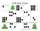 Roll and Cover- Subitizing Dots and Tallies 1-10
