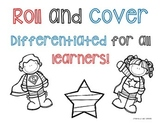 Roll and Cover Super Hero Number Recognition and Addition