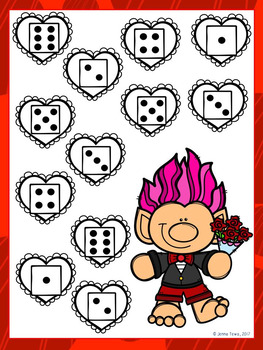 Roll and Cover:  Valentine Troll Edition FREEBIE