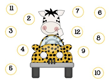 Roll and Cover { Wild about Math } fun pack
