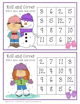 Roll and Cover - Winter Fun Edition