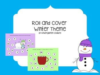 Roll and Cover -Winter Theme