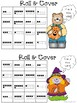 Roll and Cover for Kindergarten Halloween Color Set - Recognition 1-6