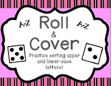 Roll and Cover - letter sorting (upper and lower case A-Z)