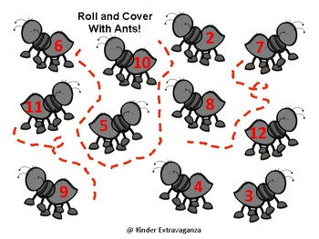 Roll/Add and Cover with Ants