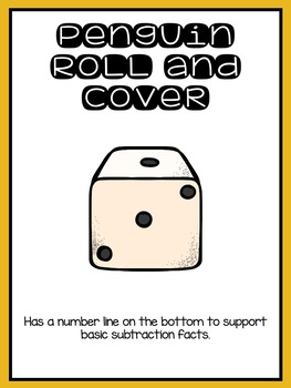 Roll and Cover with Number Lines