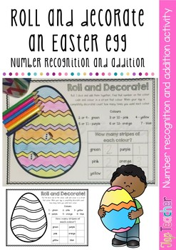 Roll and Decorate an Easter Egg