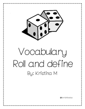 Roll and Define