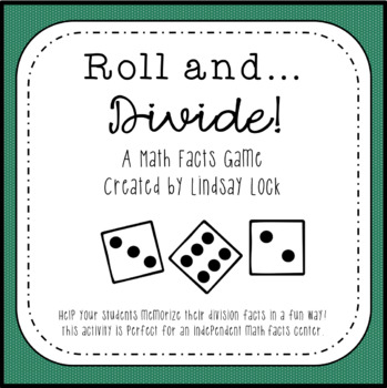 Roll and Divide Dice Game