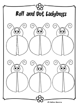 Roll and Dot Ladybugs