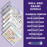 Roll and Draw! Five Art History Games - letter and tabloid size