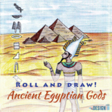 Roll and Draw! - Ancient Egypt - tabloid/letter size