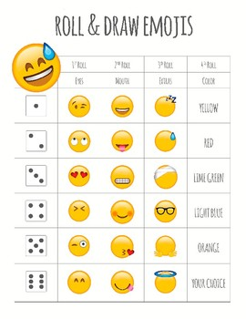 Roll and Draw Emojis