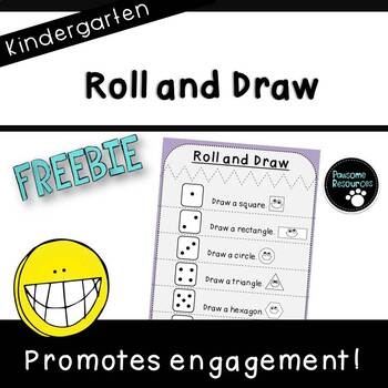 Roll and Draw (***Kindergarten FREEBIE***)