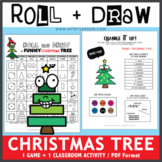 Roll and Draw Game - A Funny Christmas Tree