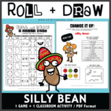Roll and Draw Game - A Silly Bean (Bean Day on January 5)