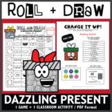 Roll and Draw Game - Dazzling Present (Winter Fun!)