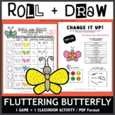 Roll and Draw Game - Fluttering Butterfly (Spring Fun!)