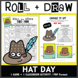Roll and Draw Game - Hat Day (January 15)
