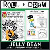 Roll and Draw Game - Jazzy Jelly Bean (National Jelly Bean